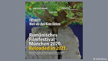 Rumänisches Filmfestival in München | Plakat