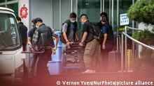 Hongkong | Festnahme von Apple Daily Mitarbeiter durch Sicherheitsgesetz