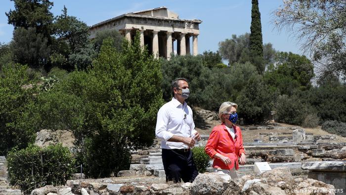 Αθήνα | φον ντερ Λάιεν Μητσοτάκης