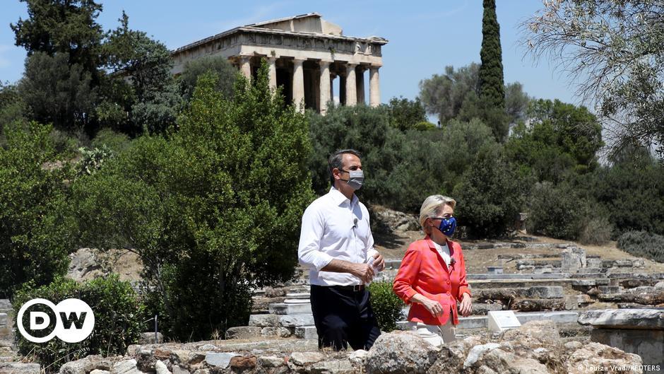 EU backs Greece's pandemic recovery plan