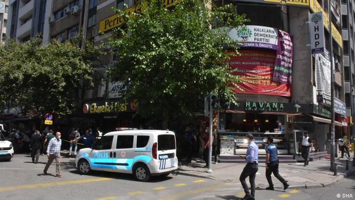 Türkei Anschlag auf Büro der prokurdischen HDP in Izmir