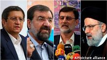Iran Präsidentschaftwahlen Kandidaten