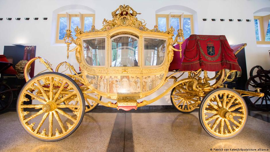 The Golden Coach is used on Prince's Day in Holland