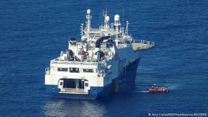 Ärzte ohne Grenzen (MSF) retten Migranten im Mittelmeer