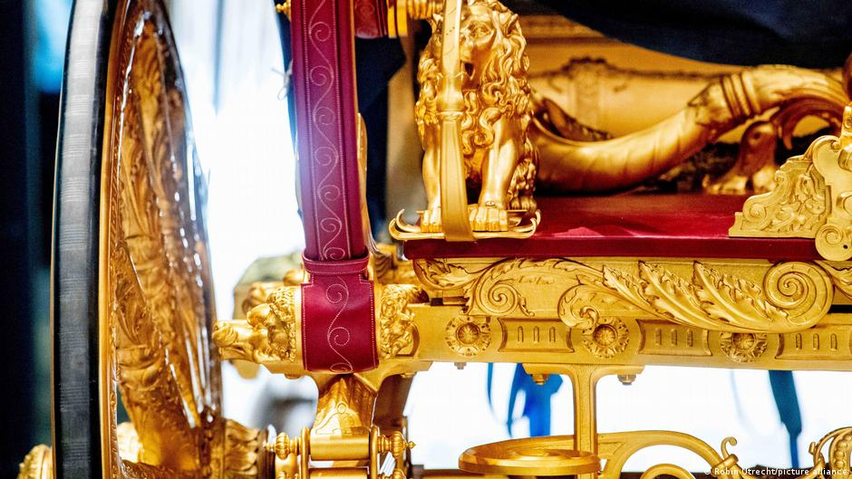 The Golden Coach is on exhibition at the Amsterdam Museum until February 2022
