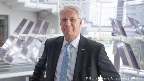 Thomas Reiter of ESA