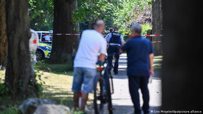 Two people have been reported dead in the shooting in the town of Espelkamp