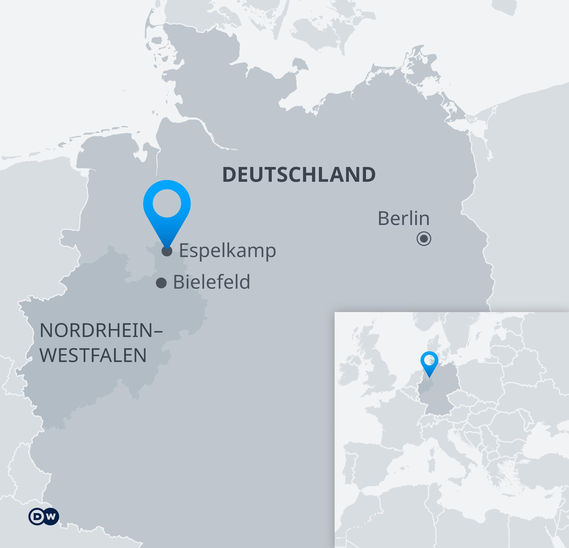 Karte Espelkamp
