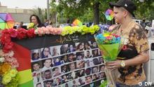 Amanda Grau, eine Überlebende des Attentats auf den Gay Club Pulse in Orlando, USA, vor fünf Jahren. Von vier Kugeln getroffen, versteckte sie sich unter toten Körpern und überlebte so. 49 Menschen wurden damals von einem mutmaßlichen islamistischen Attentäter erschossen, 53 weitere verletzt.