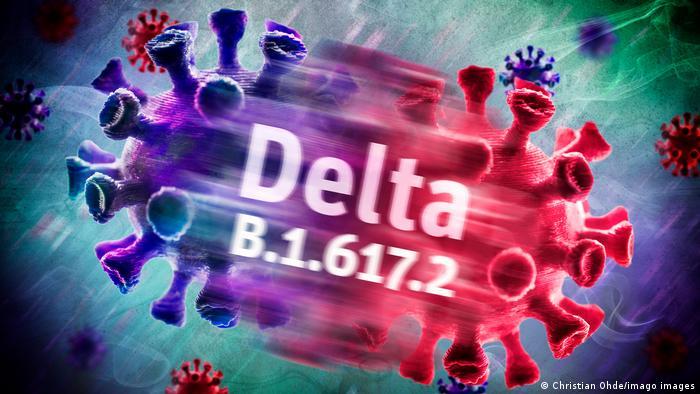 Wariant Delta koronawirusa uchodzi za bardziej zaraźliwy niż poprzednie