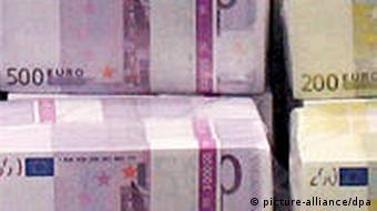 Dossierbild Tryptychon Euro Geld Schulden Krise 1