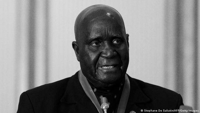 Kenneth Kaunda   ehemaliger Präsident Sambias
