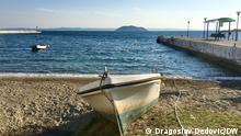 Griechenland Stadt Neos Marmaras Blick von der Promenade
