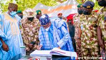 17.6.2021**** +++Nur zur abgesprochenen Berichterstattung++++ Der nigerianische Präsident Buhari besucht den Bundesstaat Borno
