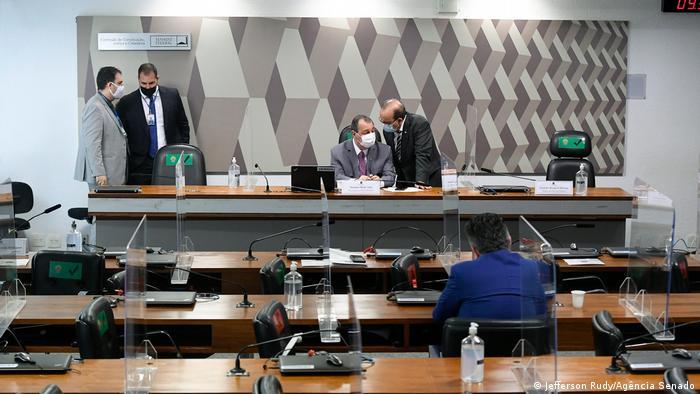 CPI da Pandemia no Senado brasileiro