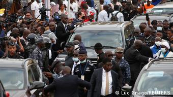 L'explosion de joie à Abidjan à l'arrivée de l'ex-président Gbagbo
