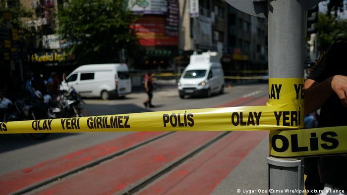 Police in Izmir
