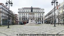 Portugal Coronavirus Lockdown in Lissabon