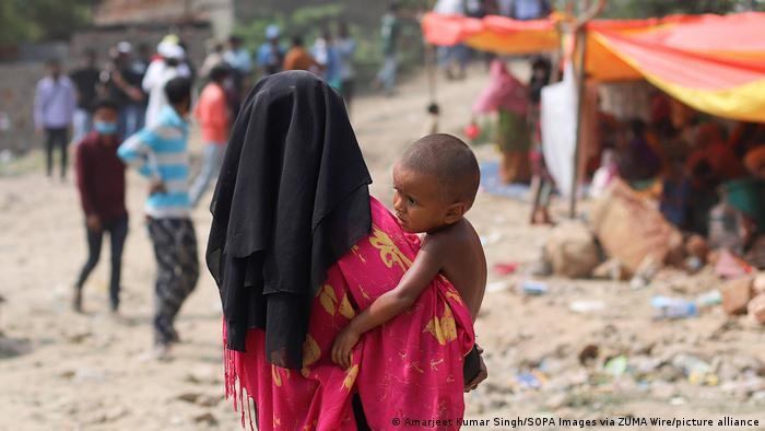 Indien | Rohingya-Flüchtlingslager in Neu-Delhi