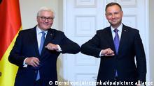 Prezydenci Andrzej Duda i Frank-Walter Steinmeier w Warszawie
