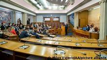 Montenegro | Parlament verabschiedet Resolution zur Anerkennuung des Völkermordes von Srebrenica