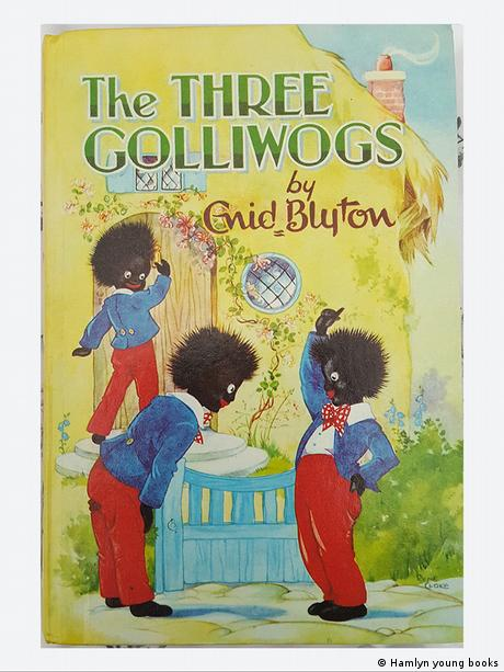 Cover of Enid Blyton's The Three Golliwogs