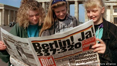 Deutschland Berlin wird Regierungssitz