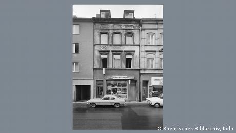 Foto em preto e branco de 1977 mostra estabelecimento comercial em Colônia