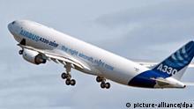 Airbus A330-200F startet zum Jungfernflug