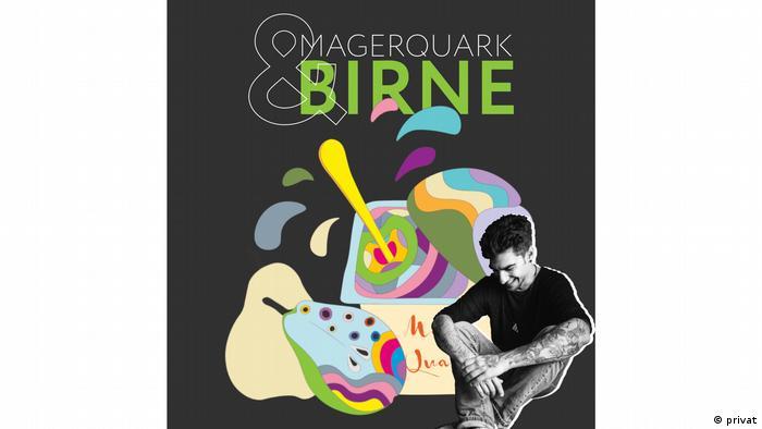 Logo des Magersucht-Podcast Magerquark und Birne