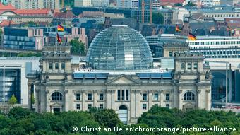 Bildergalerie Regierungsviertel | Blick auf den Reichstag, Berlin, Deutschland, Europa