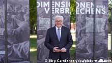 Франк-Вальтер Штайнмаєр на відкритті виставки в музеї Берлін-Карлсхорст