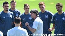 Fußball Euro 2020 | DFB Training in Herzogenaurach | Joachim Löw und Mannschaft