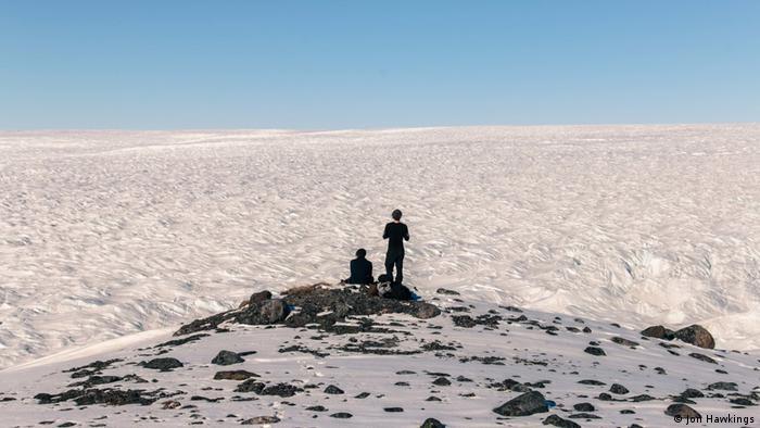 Grönland Forschungsstudie