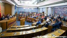 17.06.2021 session of Parliament of Montenegro,