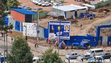 Wahlkampf in Addis Abeba, Hauptstadt Äthiopien 16.06.2021. Copyright: Negash Mohammed (DW Amharisch Mitarbeiter)