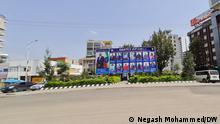 Äthiopien Wahlkampf in Addis Abeba