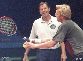 Niki Pillic i Boris Becker, 1997.