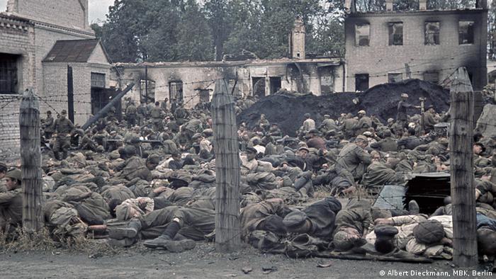 Лагерь советских военнопленных, 1941 год