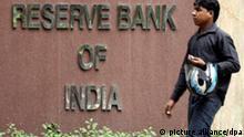 Indien neues Symbol für die Rupie