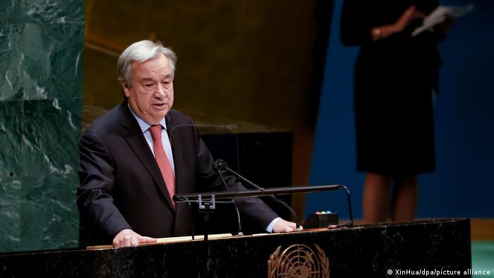 Konflikt in Nahost - UN-Generalversammlung UN-Generalsekretär Antonio Guterres