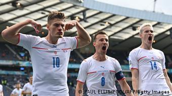 Schottland Glasgow   UEFA Euro 2020   Tor für Tschechische Republik