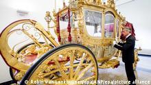 Amsterdam Goldene Kutsche des Königs
