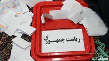 18.06.2021 Wahlen im Iran, Wahlurne Q.: Tasnim
