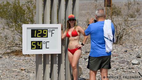 BdTD USA   54 Grad Hitze im Death Valley National Park