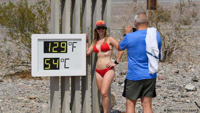 54 stupnja Celzijusa u Nacionalnom parku Death Valley