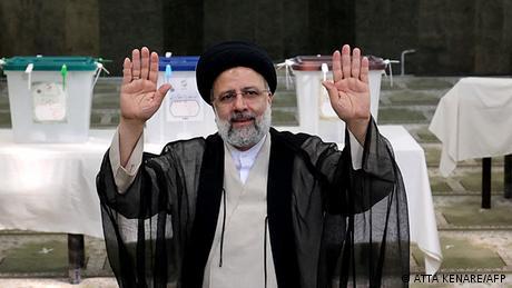 إبراهيم رئيسي الرئيس الإيراني الجديد (18 يونيو/ حزيران 2021)