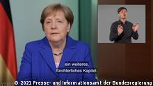 Podcast Bundeskanzlerin Angela Merkel, 19.Juni 2021 © 2021 Presse- und Informationsamt der Bundesregierung