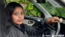 Indien Taxi-Fahrerinen von Kalkutta