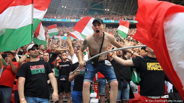 Ungarn Budapest | UEFA EURO 2020 | Ungarn vs Frankreich | Jubel 1:0